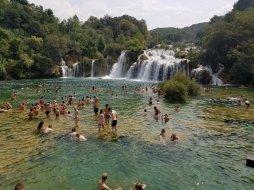 Krks Waterfalls in Croatia